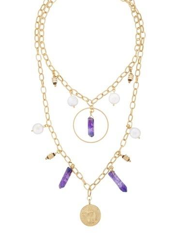 Amulette Jewel Kolye Mor